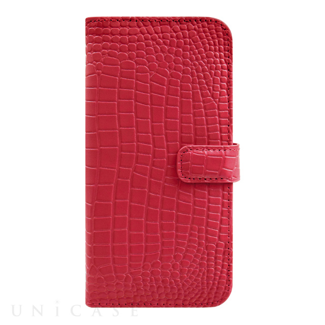 【iPhone6s/6 ケース】COWSKIN Diary Red×ALLIGATOR for iPhone6s/6