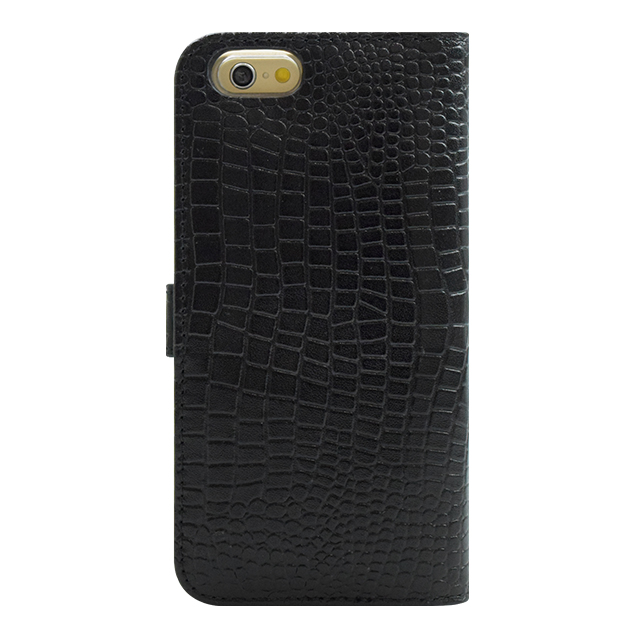 【iPhone6s/6 ケース】COWSKIN Diary Black×ALLIGATOR for iPhone6s/6サブ画像