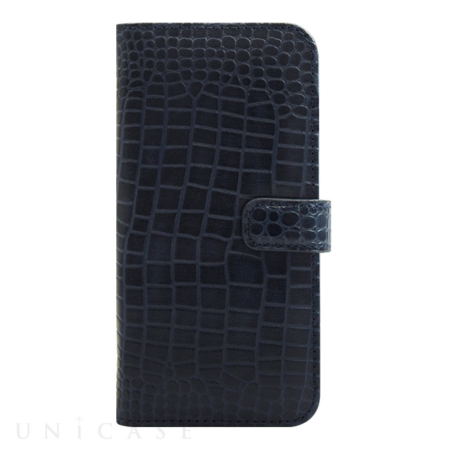 【iPhone6s/6 ケース】COWSKIN Diary Navy×ALLIGATOR for iPhone6s/6