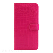 【iPhone6s/6 ケース】COWSKIN Diary Pink×ALLIGATOR for iPhone6s/6