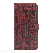 【iPhone6s/6 ケース】COWSKIN Diary Campari×ALLIGATOR for iPhone6s/6