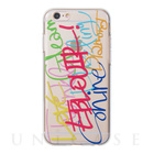 【iPhone6s/6 ケース】Lettering Jelly case
