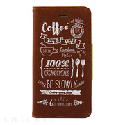 【iPhone6s/6 ケース】Cafe Style Case (ブラウン)