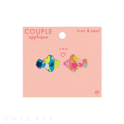 APPLIQUE COUPLE (fish)