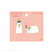 APPLIQUE COUPLE (OBAKE combi)