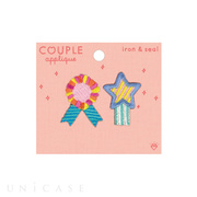 APPLIQUE COUPLE (rosette)