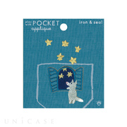 APPLIQUE play with POCKET (ookam...
