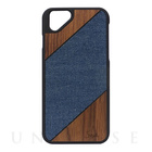【iPhoneSE/5s/5 ケース】S-tyle (One wash × Wood)