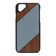 【iPhoneSE/5s/5 ケース】S-tyle (Hard wash × Wood)