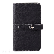 【マルチ スマホケース】Universal Folio Madison collection 5inch (Black)