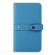 【マルチ スマホケース】Universal Folio Madison collection 5inch (Sky Blue)