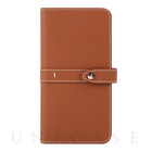 【マルチ スマホケース】Universal Folio Madison collection 5.7inch (Brown)