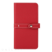 【マルチ スマホケース】Universal Folio Madison collection 5.7inch (Red)