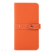【マルチ スマホケース】Universal Folio Madison collection 5.7inch (Orange)