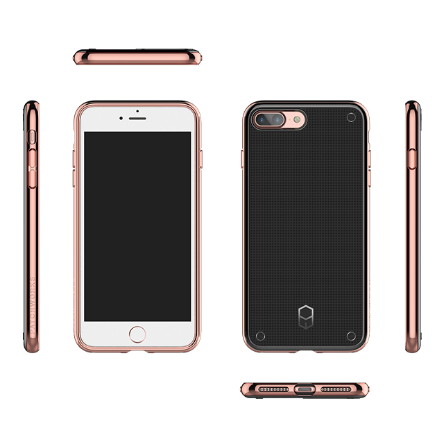 【iPhone8 Plus/7 Plus ケース】FlexGuard Case (Gold)サブ画像