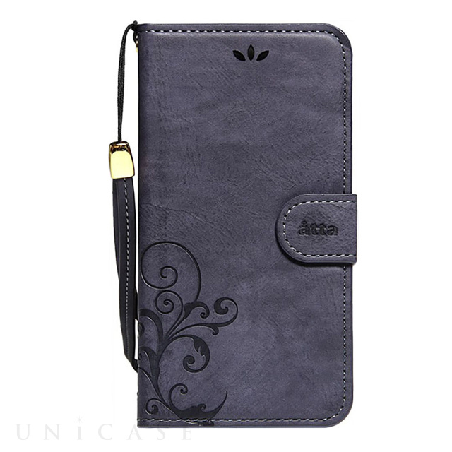 【iPhone8 Plus/7 Plus ケース】SMART COVER NOTEBOOK (Navy)