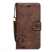 【iPhone8 Plus/7 Plus ケース】SMART COVER NOTEBOOK (Dark Brown)