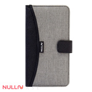 【iPhone8/7 ケース】FASHION WALLET CASE (Gray)
