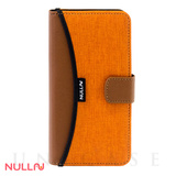 【iPhone7 ケース】FASHION WALLET CASE (Orange)