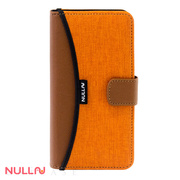 【iPhone8/7 ケース】FASHION WALLET CASE (Orange)