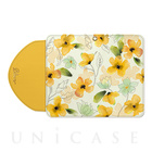 【iPhone7/6s/6 ケース】Ladylike flower yellow