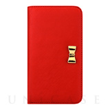 【iPhone8/7 ケース】Wallet Case (Ribbon Red)