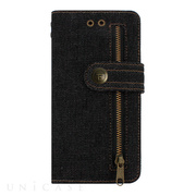 【iPhone8 Plus/7 Plus ケース】Diary Denim (Black)