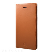 【iPhone8/7 ケース】Full Leather Case (Tan)