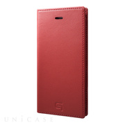 【iPhone8 Plus/7 Plus ケース】Full Leather Case (Red)