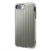 "【iPhone8 Plus/7 Plus ケース】""Rib"" Hybrid Case (Gray)"