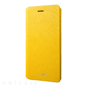"【iPhone8 Plus/7 Plus ケース】Flap Leather Case ""Colo"" (Yellow)"