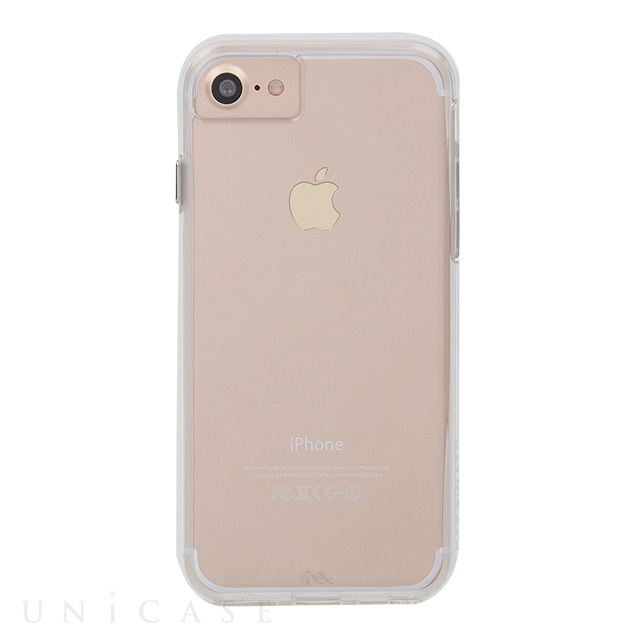 【iPhone8/7/6s/6 ケース】Hybrid Tough Naked Case (Clear/Clear)