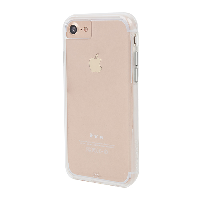 【iPhone8/7/6s/6 ケース】Hybrid Tough Naked Case (Clear/Clear)サブ画像