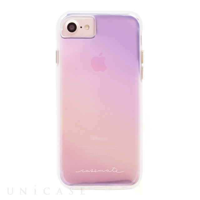 【iPhone7/6s/6 ケース】Hybrid Tough Naked Case (Iridescent)【耐衝撃】