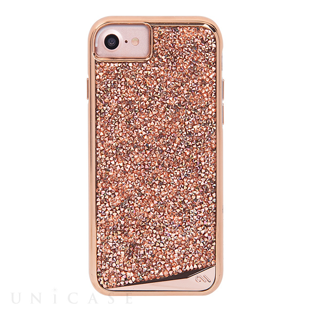 【iPhone8/7/6s/6 ケース】Brilliance Case (Rose Gold)