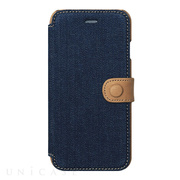 【iPhone8/7 ケース】Denim Vintage Pocket Diary