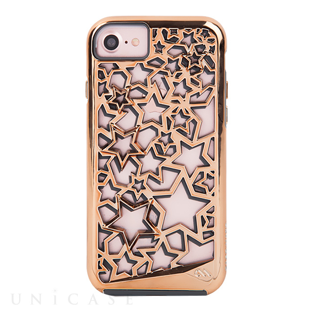 【iPhoneSE(第2世代)/8/7/6s/6 ケース】Tough Layers Case (Stars/Rose Gold)