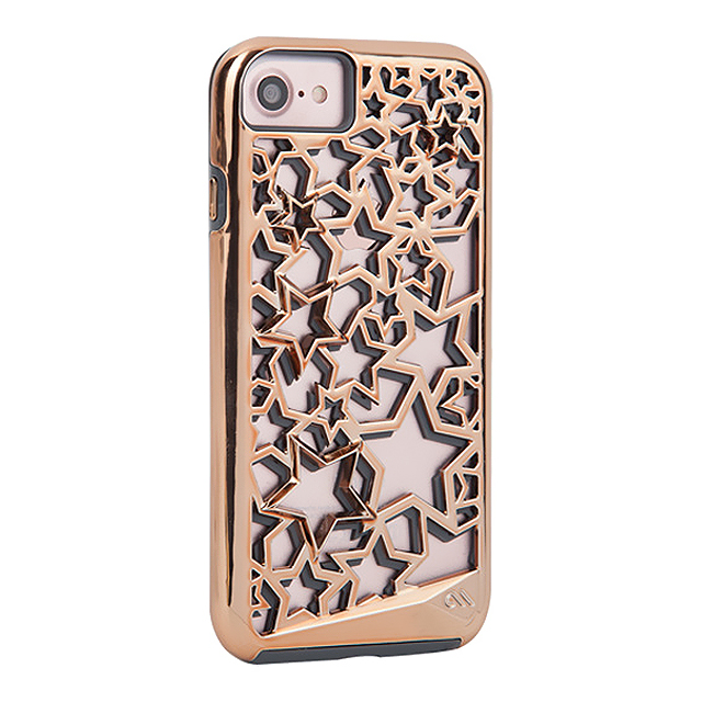【iPhone7/6s/6 ケース】Tough Layers Case (Stars/Rose Gold)【耐衝撃】サブ画像