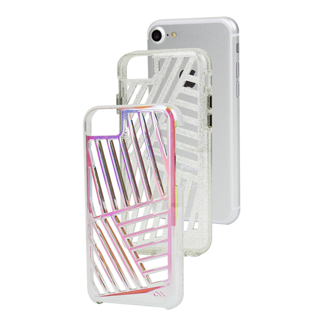 【iPhone8/7/6s/6 ケース】Tough Layers Case (Cage/Iridescent/Sheer Glam)サブ画像