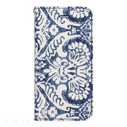 【iPhone8/7 ケース】Denim Paisley Diary