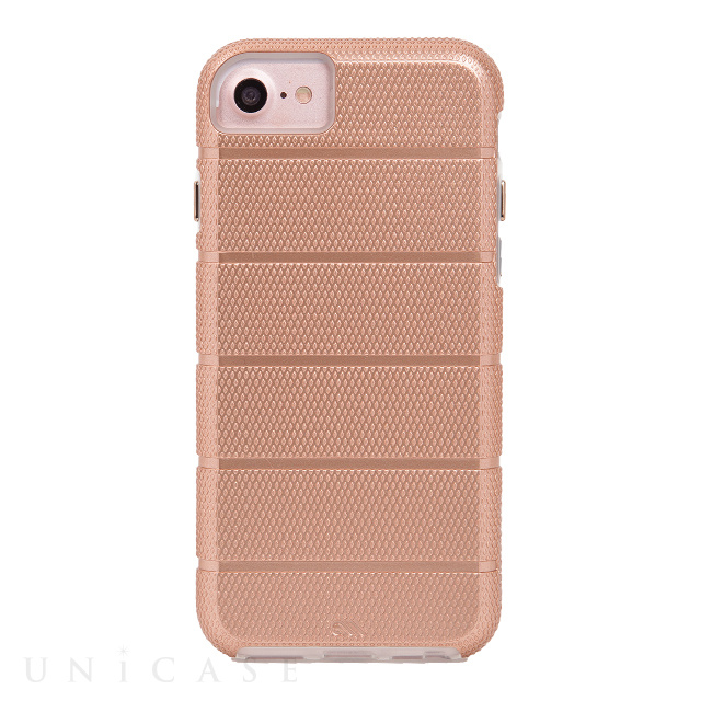 【iPhoneSE(第2世代)/8/7/6s/6 ケース】Tough Mag Case (Rose Gold)