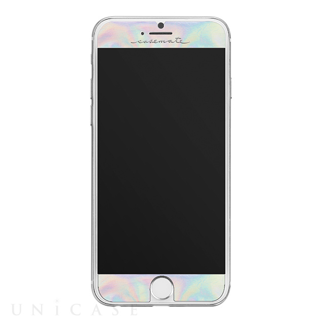【iPhone8/7 フィルム】Gilded Glass Screen Protector (Iridescent)