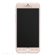 【iPhone8/7 フィルム】Gilded Glass Screen Protector (Rose Gold)