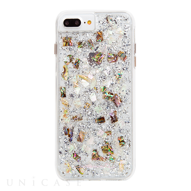 【iPhone7 Plus ケース】Karat Case (Mother of pearl)【耐衝撃】