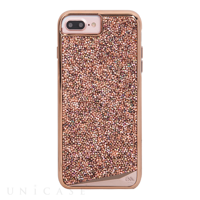 【iPhone8 Plus/7 Plus ケース】Brilliance Case (Rose Gold)