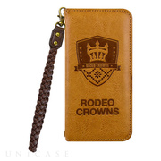 【iPhone8/7 ケース】RODEO CROWNS [LEATHER] (ブラウン)