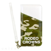 【iPhone8/7 ケース】RODEO CROWNS [CAMOUFLAGE] (カーキ)