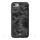 【iPhone7/6s/6 ケース】MATERIAL CASE LEATHER CAMOUFLAGE (BLACK)【レザー】