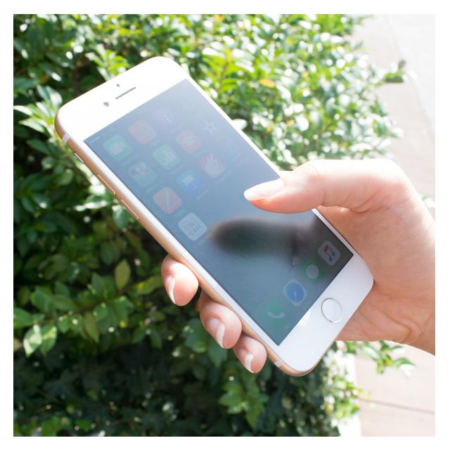 反射を防止・手触りサラサラのiPhone7/iPhone7 Plusの保護フィルム