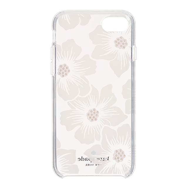 【iPhone8/7 ケース】1PC Comold (Hollyhock Floral Clear/Cream with Stones)サブ画像